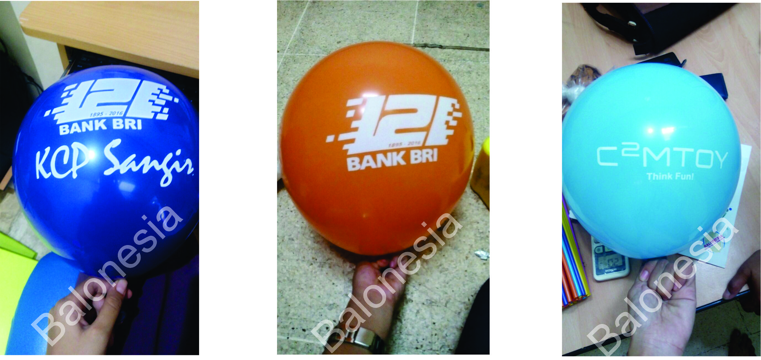 Balon Promosi Jogja Balon Sablon Latex