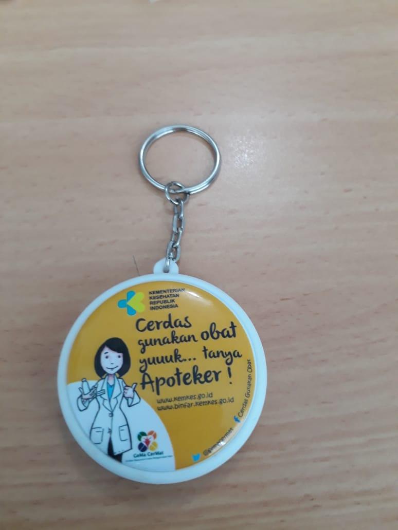 Gantungan Kunci Promosi Custom Murah Jogja