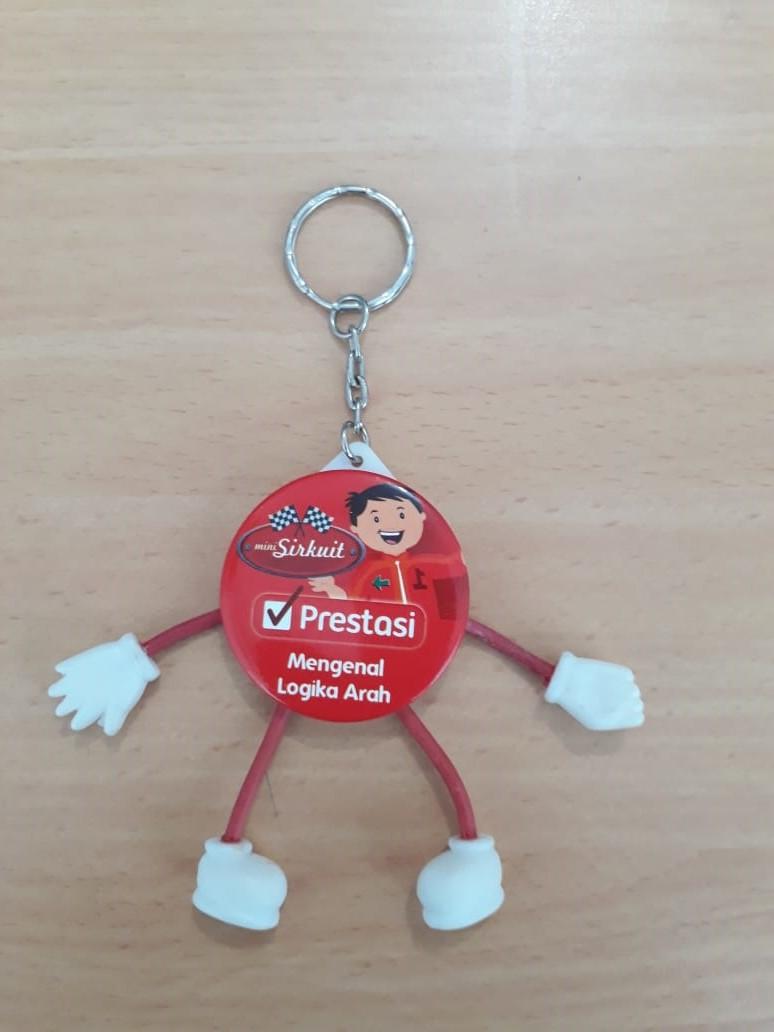 Gantungan Kunci Souvenir Custom Jogja